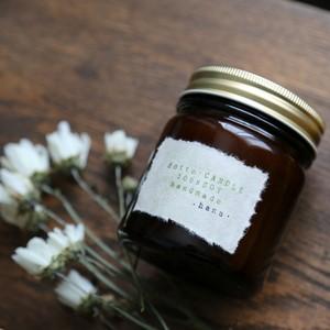 ・hana・花の香り(L)/  100%SOY木芯キャンドル