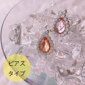 【予約商品】Liquem / ジューシィシズル・ピアス