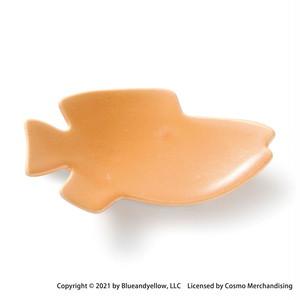 レオ・レオニ 豆皿 小皿 ミニ 皿 約8×4cm スイミー 仲間 オレンジ 瀬戸焼 278215