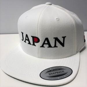 NSAオリジナル JAPANキャップ(ホワイト)