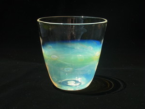 Glass 水玉タンブラー