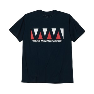 LOGO PRINTED T-SHIRT -NAVY