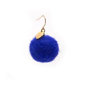 Felt Ball Hook - Blue