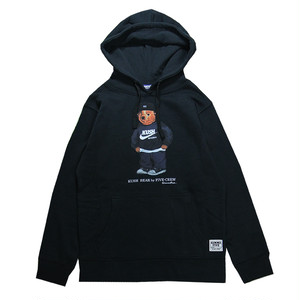 GIMME FIVE KUSH BEAR HOOD(BLACK)