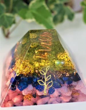【魂の色】(完全オーダーメイド:台形錘& ブラジル産水晶)※写真はサンプルイメージ