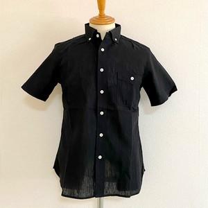 CoolMax Widespread Collar S/S Shirt Black