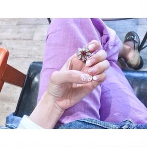 【リング】春 マーガレットリング 人気のリング
