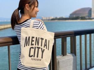 MENTAI CITY エコバッグ(ロゴ)2個セット