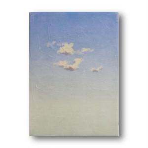 絵画作品【送料無料】タイトル「雲一つ」リトグラフ 額装なし paintings, fine art