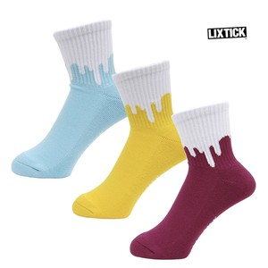 【LIXTICK】Drip Socks 3pack (rev4.5)