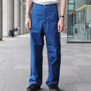 【WESTOVERALLS】BACKLE BACK LINING PANTS
