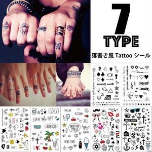 Tattooシール 落書き風 アイコン タトゥーシール タトゥシール やみかわいい ゆめかわいい 今コレ フェス イベント 860419