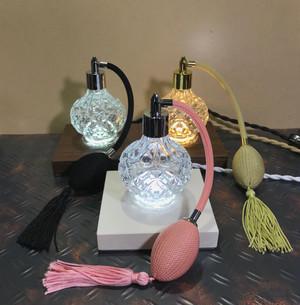 香水瓶のミニムードランプ