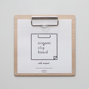 origami clip board / おりがみクリップボード