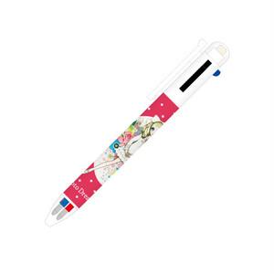BNTM1-3CSV シャーペン付き3色ボールペン(ビビットピンク)