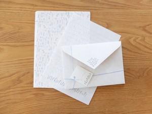 【活版印刷×リソグラフ】Letter set  [ botanical ]