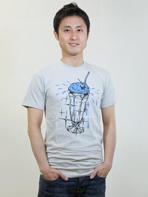 Creamsoda T-shirt Grey