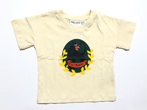 【20ss】 minirodini ( ミニロディーニ )Panther badge ss t-sh Tシャツ