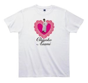 《浅見千代子Tシャツ 》TA004/ ハートとおばちゃん