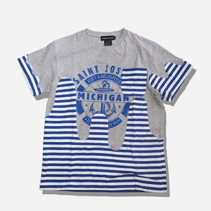 WCH Remake Wave Patch SS Tee -border / gray