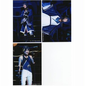 三日月宗近/黒羽麻璃央 2部衣裳 舞台写真ブロマイド ミュージカル『刀剣乱舞』 ~つはものどもがゆめのあと~
