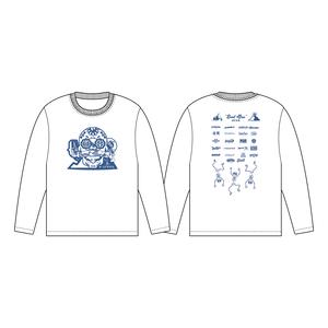 BURSTMAX'18ロングTシャツ(ホワイト)