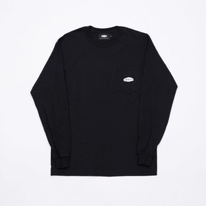 CRATE Onepoint L/S T-Shirts BLACK