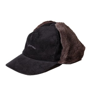 Corduroy Flight Cap -black <LSD-AI3AC1>