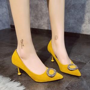 【shoes】パンプス女性らしい尖った先ハイヒール