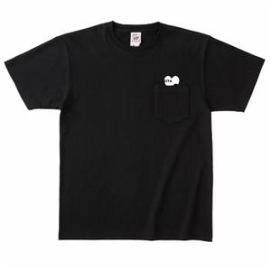 ZITA ポケット付きTシャツ(ブラック)