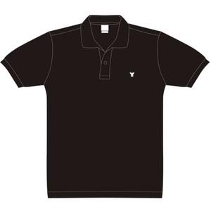 胸刺繍ワンポイント ポロシャツ