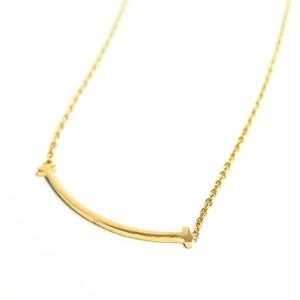 18kgp T Letter Necklace 【GOLD】
