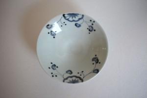 清水なお子|花唐草4.5寸皿