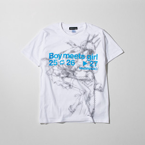 SDAT Boy meets girl Tee (Shinji Mari) 白 (S)