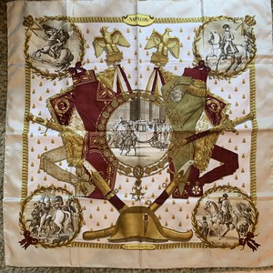 HERMES ナポレオンスカーフ