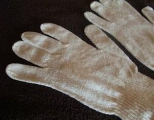 ガルシャナ専用手袋(アーユルヴェーダシルク)