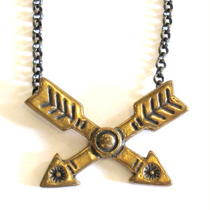 "Bandit Brand ""Cross Arrows"" Necklace"