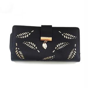 Wallet Leather Card Holder Long Clutch Pocket Purse (HF99-4179401)