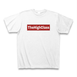 "TheHighClass オリジナルTシャツ ""グレーゾーン"" ホワイト"