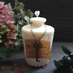 Soy bottle candle