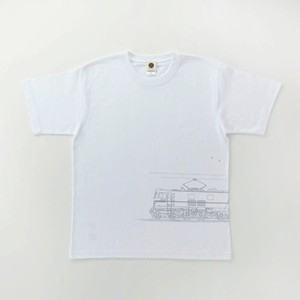 Tシャツ|EF58-61( White × Silver )