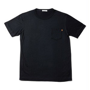 WOOL-ACTIVE-Tshirt ブラック