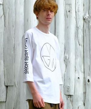 "VIRGOwearworks / ヴァルゴウエアワークス | "" EDY CIRCLE "" Print 7s-T white"