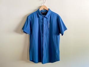 Teton Bros ティートンブロス RUN SHIRT (UNISEX) メンズ・レディース ランシャツ Navy