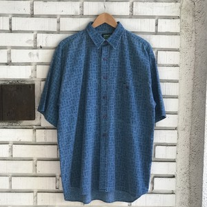 USED PATTERN S/S SHIRT