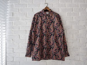 agnes b. Homme Paisley Pattern L/S Shirt size:3 アニエス・ベーオム