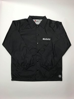 MAD WAX COACHES JACKET  Black