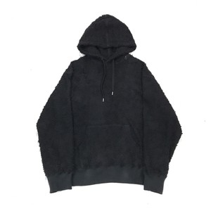 AVALONE AW17 LONG PILE HOODIE