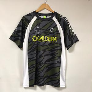 【CALDEIRA】カモフラ柄プラシャツ