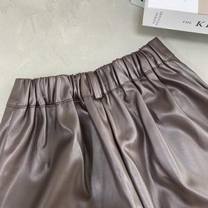 eco leather half pants(3/17na-9)